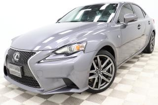 Used 2016 Lexus IS 300 IS F-Sport-2 AWD *Cuir-Rouge! Red-Leather! *GPS for sale in Saint-Hubert, QC