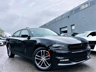Used 2019 Dodge Charger SXT|AWD|COOLING MEMORY SEATS|SUNROOF|NAVI|PARKING SENSORS! for sale in Brampton, ON