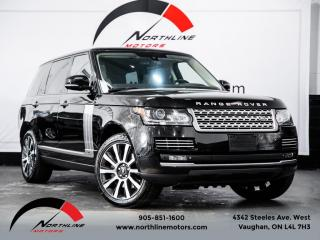Used 2014 Land Rover Range Rover Supercharged|Long Wheelbase|Executive|Autobiography|DVD for sale in Vaughan, ON