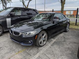 Used 2016 BMW 4 Series 428i xDrive Cabriolet Navigation Red Leather Camera for sale in Vaughan, ON