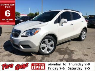 Used 2016 Buick Encore Power Group | B/Up Cam | Bluetooth | Great Mileage for sale in St Catharines, ON