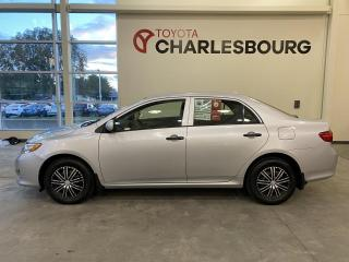 Used 2010 Toyota Corolla CE - Manuelle - Bas KM for sale in Québec, QC