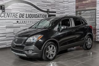 Used 2013 Buick Encore CUIR+TOIT+MAGS+AWD+CAMERA for sale in Laval, QC