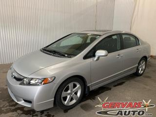 Used 2009 Honda Civic Sport Toit Ouvrant A/C Mags *Transmission Automatique* for sale in Trois-Rivières, QC
