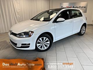 Used 2017 Volkswagen Golf 1.8 TSI Comfortline, Toit, Manuel Bas Kilo! for sale in Sherbrooke, QC