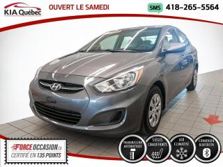 Used 2016 Hyundai Accent GL* AT* A/C* SIEGES CHAUFFANTS* BLUETOOT for sale in Québec, QC