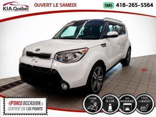 Used 2016 Kia Soul SX* LUXE* GPS* TOIT PANO* CUIR* CAMERA* for sale in Québec, QC