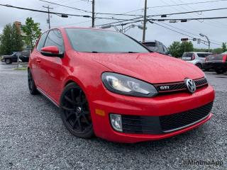 Used 2011 Volkswagen Golf GTI Voiture à hayon, 3 portes, boîte manuell for sale in Drummondville, QC