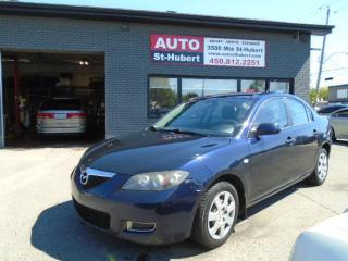 Used 2008 Mazda MAZDA3 GX for sale in St-Hubert, QC