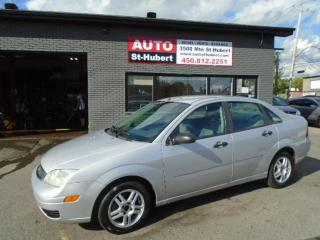 Used 2005 Ford Focus SE ZX4 for sale in St-Hubert, QC