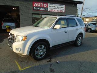 Used 2011 Ford Escape Limited AWD for sale in St-Hubert, QC