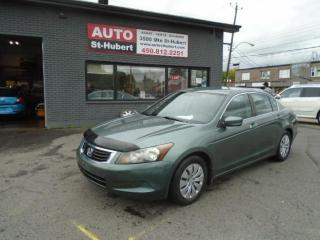Used 2008 Honda Accord LX for sale in St-Hubert, QC
