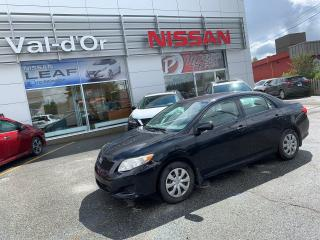 Used 2010 Toyota Corolla Ce *** TOUT ÉQUIPÉ *** for sale in Val-d'Or, QC