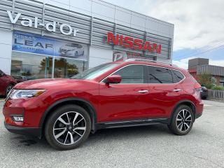 Used 2017 Nissan Rogue SL PLATINE RESERVE, AWD, TOIT PANO, NAV, CUIR BAS KILOMETRAGE, CERTIFIÉ, INTÉRIEUR COGNAC for sale in Val-d'Or, QC