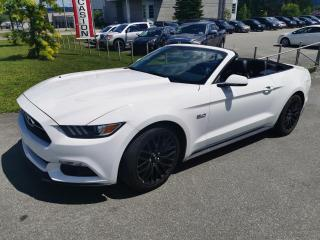 Used 2015 Ford Mustang GT / HAUT NIVEAU / CABRIOLET / CUIR / GP for sale in Sherbrooke, QC