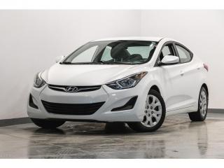 Used 2015 Hyundai Elantra Auto GL BLUETOOTH CRUISE GROUPE ELECTRIQUE for sale in Brossard, QC