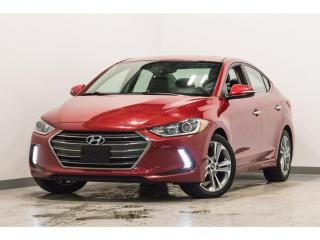 Used 2017 Hyundai Elantra Limited  cuir toit ouvrant mags navigation for sale in Brossard, QC