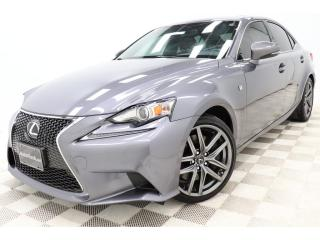 Used 2016 Lexus IS 300 IS F-Sport-2 AWD *Cuir-Rouge! Red-Leather! *GPS for sale in St-Hubert, QC