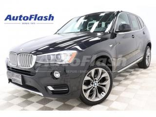 Used 2016 BMW X3 35i xDrive Premium *GPS/Camera *Toit-Pano-Roof for sale in St-Hubert, QC