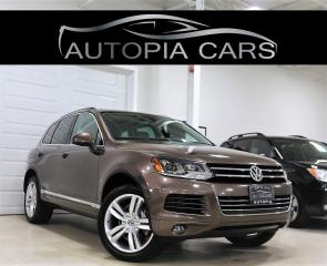 Used 2011 Volkswagen Touareg TDI EXECLINE  NAVIGATION PANORAMIC DIESEL for sale in North York, ON