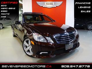 Used 2010 Mercedes-Benz E-Class E350 4MATIC DESIGNO | CERTIFIED | AMG | FINANCE @ 4.65% for sale in Oakville, ON