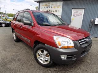 Used 2007 Kia Sportage **LX,AUTOMATIQUE,MAGS,A/C,4 CYL** for sale in Longueuil, QC