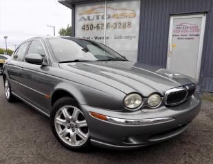 Used 2003 Jaguar X-Type *AUTOMATIQUE,BAS KILO,A/C,MAGS* for sale in Longueuil, QC