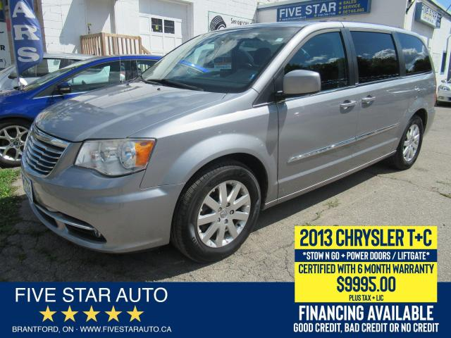 2013 Chrysler Town & Country Touring - Certified w/ 6 Month Warranty