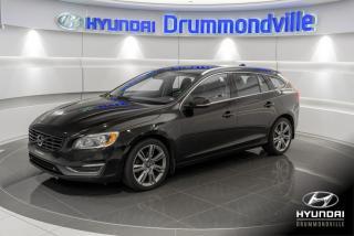 Used 2015 Volvo V60 PREMIER PLUS T5 + GARANTIE + NAVI + for sale in Drummondville, QC
