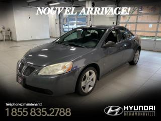 Used 2008 Pontiac G6 SE + GARANTIE + A/C + CRUISE + FOG + WOW for sale in Drummondville, QC