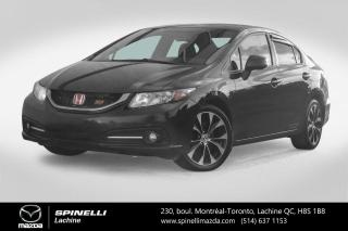 Used 2013 Honda Civic Si GPS Camera Recule Sieges Chauffants Bluetooth Honda Civic SI 2013 for sale in Lachine, QC