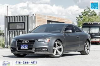 Used 2013 Audi A5 Premium Plus|Low kms|One owner|S-Line| for sale in Bolton, ON