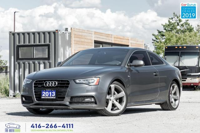2013 Audi A5 Premium Plus|Low kms|One owner|S-Line|