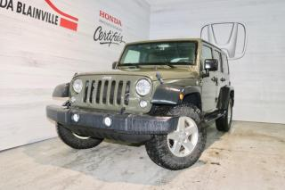 Used 2015 Jeep Wrangler UNLIMITED SPORT for sale in Blainville, QC
