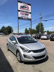 Used 2015 Hyundai Elantra L ONLY $77 BI-WEEKLY! for sale in Truro, NS