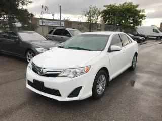 Used 2012 Toyota Camry LE,121 KM,SAFETY+3 YEARS WARRANTY INCLUDED for sale in Toronto, ON