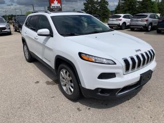 Used 2015 Jeep Cherokee Limited for sale in Harriston, ON