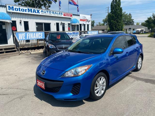 2012 Mazda MAZDA3 GS-SKY-ONE OWNER-ACCIDENT FREE