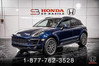 Used 2018 Porsche Macan SPORT EDITION + AWD + NAVI + CUIR + WOW! for sale in St-Basile-le-Grand, QC