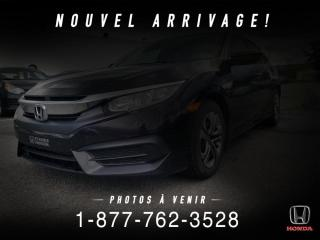 Used 2016 Honda Civic LX + AUTO + A/C + CRUISE + PROPRE + WOW! for sale in St-Basile-le-Grand, QC