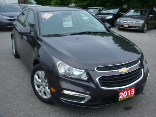 Used 2015 Chevrolet Cruze 1LT for sale in Ajax, ON