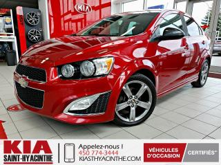 Used 2015 Chevrolet Sonic RS TURBO ** TOIT OUVRANT / CUIR for sale in St-Hyacinthe, QC