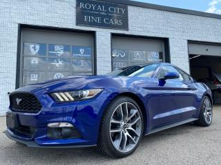 Used 2016 Ford Mustang EcoBoost Premium LOW KM Navigation Leather for sale in Guelph, ON