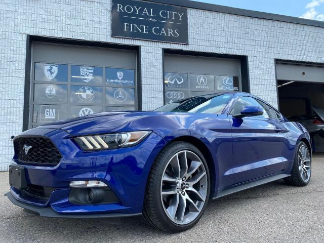 2016 Ford Mustang EcoBoost Premium LOW KM Navigation Leather