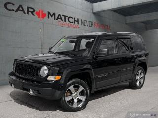Used 2016 Jeep Patriot HIGH ALTITUDE / NO ACCIDENTS / NAV  / LEATHER for sale in Cambridge, ON