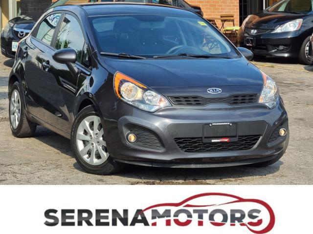 2012 Kia Rio EX+ | MANUAL | ONE OWNER | NO ACCIDENTS