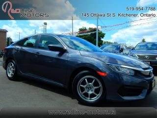 Used 2017 Honda Civic LX.Auto.ReverseCamera.Bluetooth.Alloys.LowKms for sale in Kitchener, ON