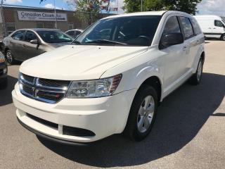 Used 2013 Dodge Journey SE,215KM,SAFETY+3 YEARS WARRANTY INCLUDED for sale in Toronto, ON