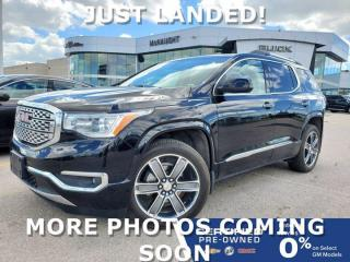 Used 2017 GMC Acadia Denali AWD | Front & Rear Heated Seats | Navigation for sale in Winnipeg, MB