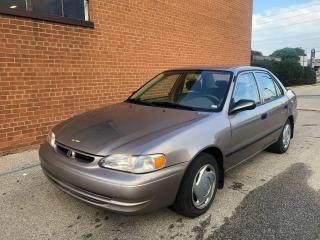 Used 2000 Toyota Corolla VE for sale in Oakville, ON
